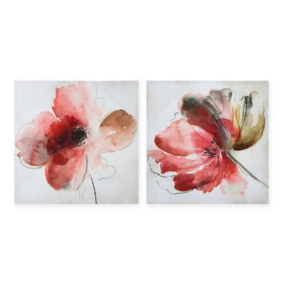 Madison Park Lovely Blooms Wall Art (Set of 2)
