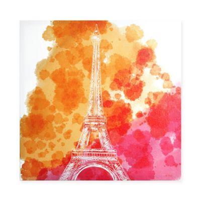 Intelligent Design Love In Paris Canvas Wall Art