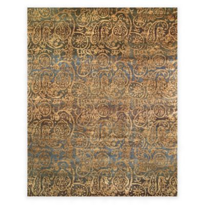 Feizy Verdigris 2-Foot x 3-Foot Accent Rug in Blue Multi