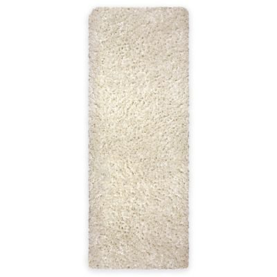 Cristal 1-Foot 8-Inch x 5-Foot Shag Runner in Ivory