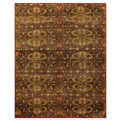 Feizy Amzad Hertai 7-Foot 9-Inch x 9-Foot 9-Inch Area Rug in Brown