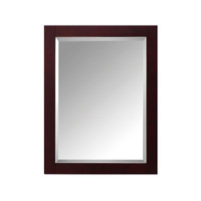 Espresso Mirror Bathroom