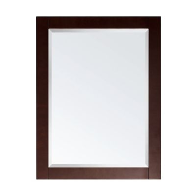Avanity Soho 24-Inch x 31.5-Inch Rectangular Mirror in Walnut