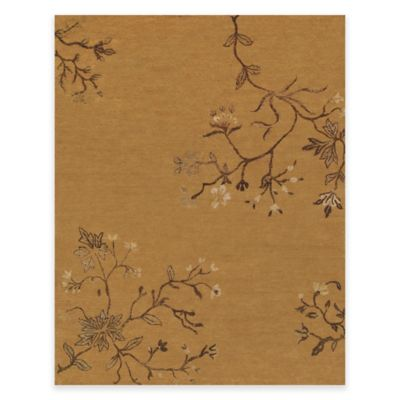 Feizy Cordonnet 66-Inch x 102-Inch Rug in Light Rust