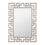 Verona Home 33.9-Inch x 47.25-Inch Crystal Accented Anette Mirror