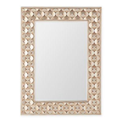 Verona Home 32.25-Inch x 43.25-Inch Emilia Mirror in Champagne