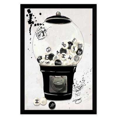 BY Jodi Bubblicious in Black Acrylic Wall Art