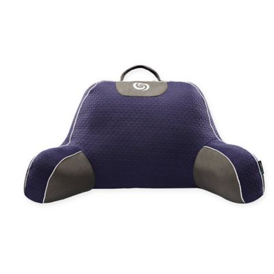 Bedgear® Fusion Performance Backrest in Navy/Grey