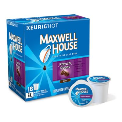 Keurig® K-Cup® Pack 18-Count Maxwell House® French Roast Coffee