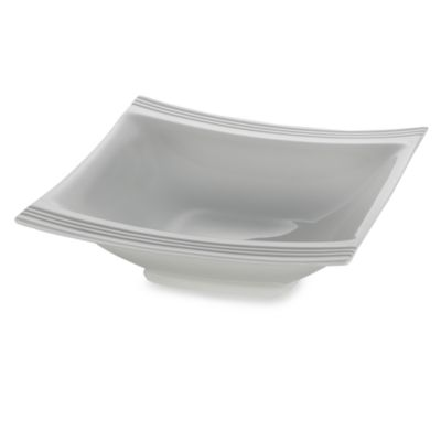 7 White Square Bowl