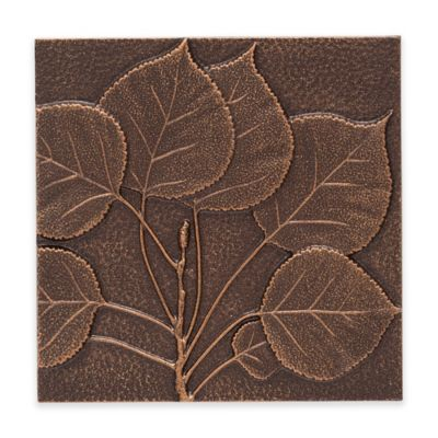Whitehall Products Aspen Leaf Outdoor Metal Wall Décor