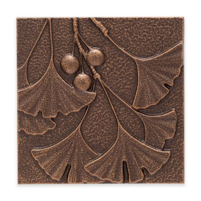 Whitehall Products Gingko Leaf Outdoor Metal Wall Décor