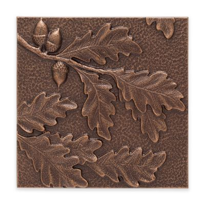 Whitehall Products Oak Leaf Outdoor Metal Wall Décor