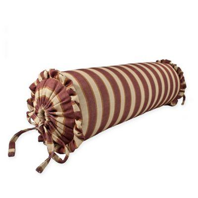 Sherry Kline Country Sunset Neckroll Throw Pillow in Burgundy
