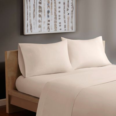 Madison Park® Forever Percale Queen Sheet Set in Ivory