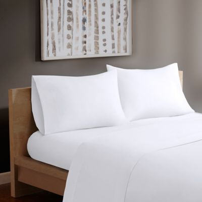 Madison Park® Forever Percale Full Sheet Set in White