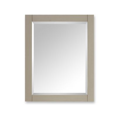 Avanity Delano 24-Inch x 30-Inch Rectangular Mirror in Taupe