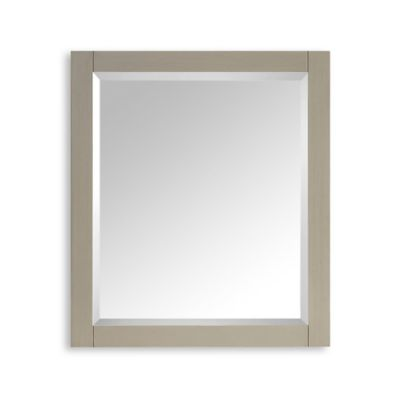 Avanity Delano 28-Inch x 32-Inch Rectangular Mirror in Taupe