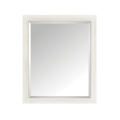 Avanity Thompson 28-Inch x 33-Inch Rectangular Mirror in French White