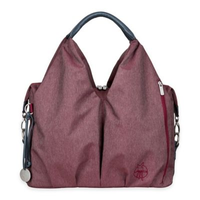 Lassig® Green Label Ecoya Neckline Diaper Bag in Burgundy Red
