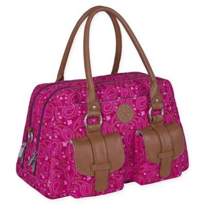 Paisley Pink Diaper Bags
