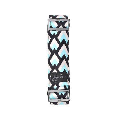 Ju-Ju-Be® Onyx Messenger Strap in Black Diamond Pattern