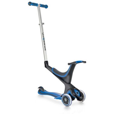 Globber Scooters 3-Wheel 5-in-1 Scooter in Dark Blue