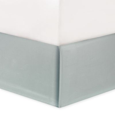 Natori® Canton King Bed Skirt in Light Aqua