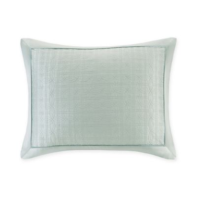 Natori® Canton Standard Pillow Sham in Light Aqua