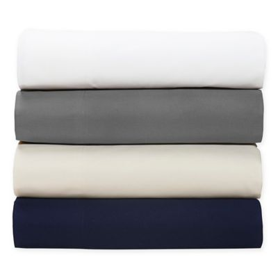 Amaze 310-Thread-Count Ultimate Performance Twin Sheet Set in Navy