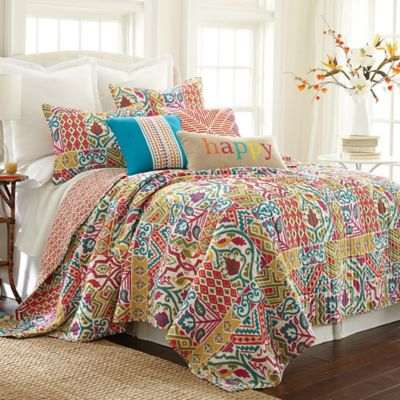 Levtex Home Ariana Reversible King Quilt Set