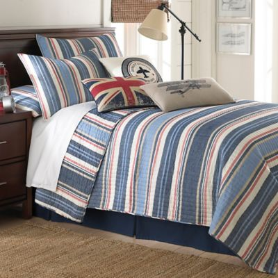 Levtex Home Oliver Twin Quilt Set