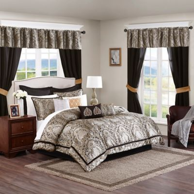 Madison Park Essentials Michelle 24-Piece Queen Complete Comforter Set