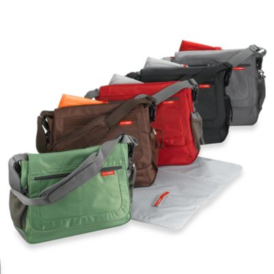 SKIP*HOP® Via Messenger Deluxe Edition Diaper Bags