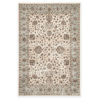 Buy Verona Ivory Blue Rugs From Bed Bath Amp Beyond