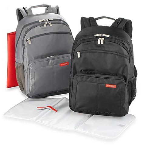 skip hop via backpack diaper bags bed bath beyond. Black Bedroom Furniture Sets. Home Design Ideas