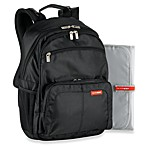 SKIP*HOP® Via Backpack Diaper Bag in Black