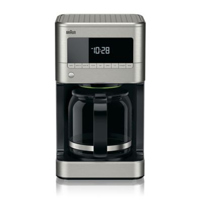 Coffee Maker Clean Button : Braun BrewSense 12-Cup Drip Coffee Maker - www.BedBathandBeyond.com