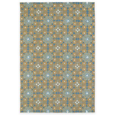 2 6 x 4 Brown Area Rug