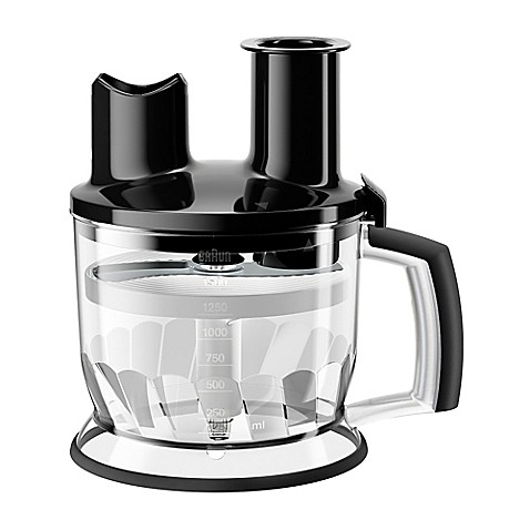 Braun Multiquick Hand Blenders  Cup Food Processor Attachment