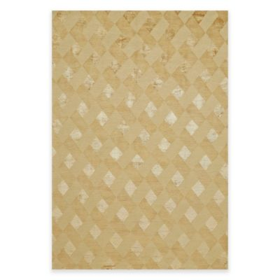 Feizy Chadwick 7-Foot 9-Inch x 9-Foot 9-Inch Area Rug in Gold