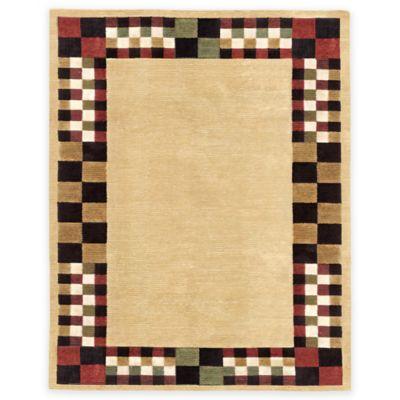 Feizy Keystone Checkerboard 5-Foot 6-Inch x 8-Foot 6-Inch Multicolor Area Rug