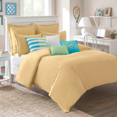 Southern Tide® Skipjack Chino King Comforter in Pineapple