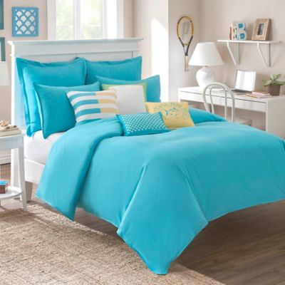 Southern Tide® Skipjack Chino Full/Queen Comforter in Island Blue