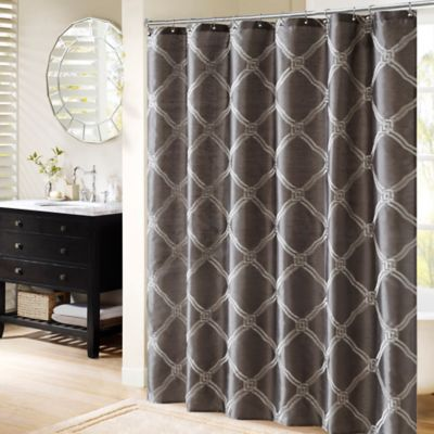 Buy Gray Shower Curtain From Bed Bath Beyond