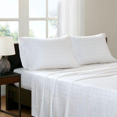 Sleep Philosophy® Tencel® Modal California King Sheet Set in White