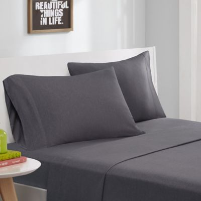 Intelligent Design® Jersey Knit Queen Sheet Set in Grey