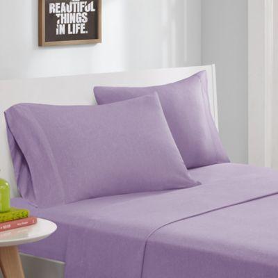 Purple Twin Sheet Set