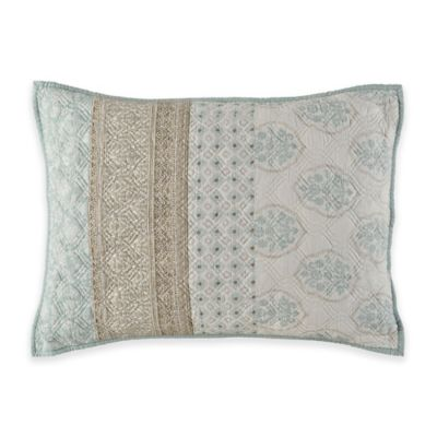 Kala King Pillow Sham in Seafoam