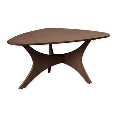 INK+IVY® Blaze Triangle Wood Coffee Table in Pecan